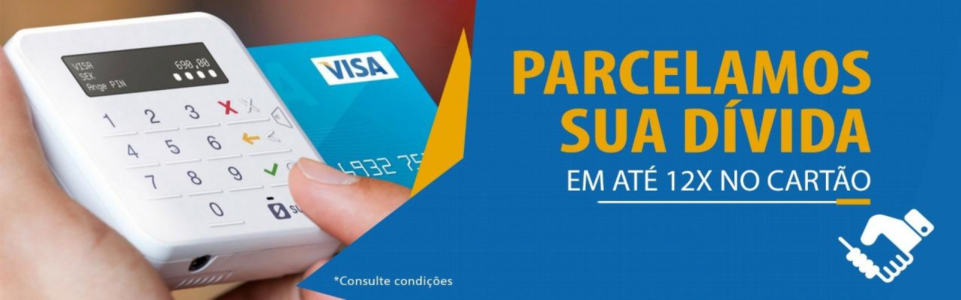 Parcelamento Cartão de Crédito